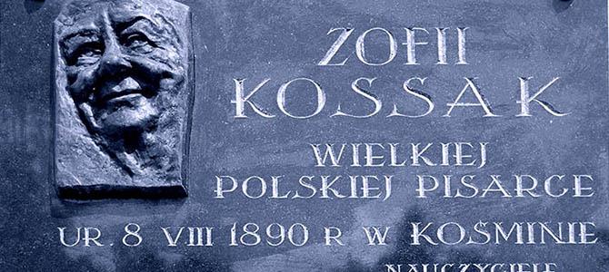 Rocznica urodzin Zofii Kossak (10.08.2017)